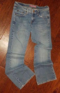 Levis Jeans 518 5M 5 M Stretch SuperLow Boot Cut Low Rise L 30  | eBay