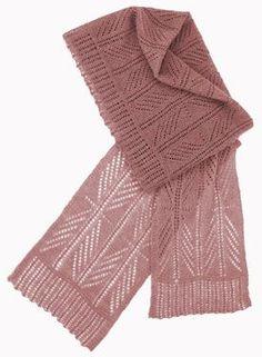 Skeleton Scarf and Nachaq Hood Pattern - Knitting Patterns by Donna Druchunas