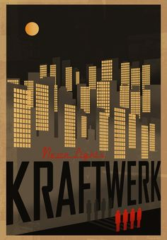 "KRAFTWERK ""Trans Europe Express""  That was the jam!"