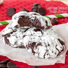 Gooey Dark Chocolate