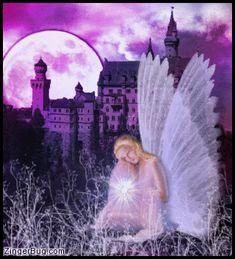 Fantasy Fairy Glitter Graphic Comment