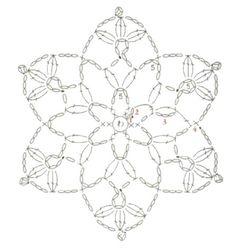- Her Crochet Loading. - Her Crochet Motif Mandala Crochet, Crochet Snowflake Pattern, Crochet Stars, Crochet Motifs, Crochet Snowflakes, Granny Square Crochet Pattern, Crochet Diagram, Crochet Doilies, Crochet Flowers