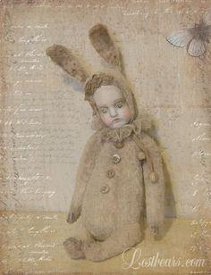 rabbit doll - Lost Bears