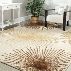 Safavieh Hand-Tufted Wool Area Rug, Beige