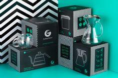 Coffee Gator packaging by Tidy Studio