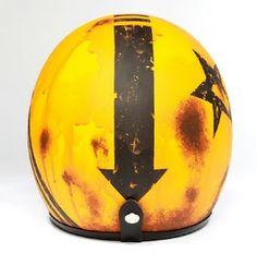 If It's Hip, It's Here (Archives): 5 Artists Design Helmets For Pirates Design Cool Motorcycle Helmets, Cool Motorcycles, Motorcycle Style, Fz 16, Cafe Racer Helmet, French Sculptor, Custom Helmets, Paint Stripes, Helmet Design