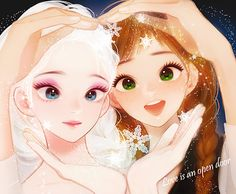 Elsa and Anna. <3