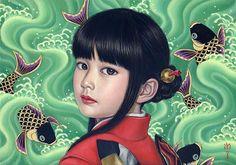 Nací en 1973 en la prefectura de Kagawa, en Japón. Allí mismo me especialicé en diseño de interiores y escultura. Más tarde estudié Historia del Arte Occidental y óleo Mi principal influencia es el…
