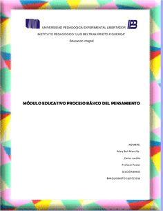 """UNIVERSIDAD PEDAGOGICA EXPERIMENTAL LIBERTADOR INSTITUTO PEDAGOGICO """"LUIS…"""
