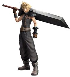 Cloud Strife from Dissidia: Final Fantasy (2015)