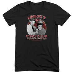 "Checkout our #LicensedGear products FREE SHIPPING + 10% OFF Coupon Code ""Official"" Abbott & Costello / Bad Boy-short Sleeve Adult Tri-blend - Abbott & Costello / Bad Boy-short Sleeve Adult Tri-blend - Price: $44.99. Buy now at https://officiallylicensedgear.com/abbott-costello-bad-boy-short-sleeve-adult-tri-blend"