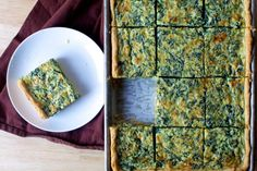 This Spinach Sheet Pan Quiche by Smitten Kitchen looks delicious and would be so good with Tommy's Superfoods Super Greens! Lunch Snacks, Jambalaya, Eat Breakfast, Breakfast Recipes, Breakfast Spinach, Kitchen Recipes, Cooking Recipes, Pollo Tikka, One Pan Dinner