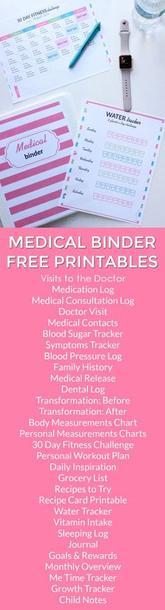 Make A Personal Medical Records Organizer My personal medical - release of medical information form