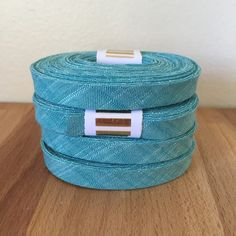 Kaufman Manchester Yarn-Dyed Chambray Bias Tape in by SoBiased