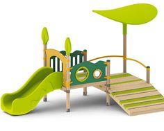 Speeltoestellen Gaya met open dak Indoor Playroom, Baby Playroom, Toddler Classroom, Toddler Playground, Outdoor Playground, Baby Slide, Toddler Slide, Ikea Hack Kids, Kids Play Spaces