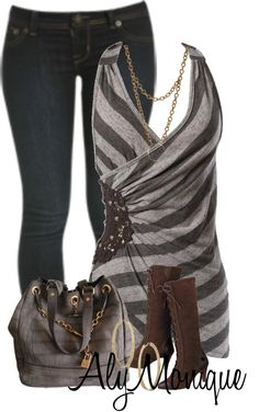 """Farb- und Stilberatung mit www.farben-reich.com # """"Untitled #677"""" by alysfashionsets ❤ liked on Polyvore"""