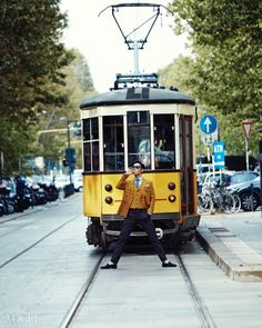 T.O.P de BIGBANG realiza sesión de fotos en las calles de Milán para Vogue Korea