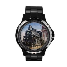 Train 1 Watch & Numeral Options
