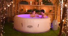 The Bestway Lay-Z-Spa Paris Inflatable Hot Tub from Bestway. The latest Lay-Z-Spa Paris model for Buy Now. Lazy Spa, Intex Whirlpool, Inflatable Hot Tub Reviews, Deco Spa, Hot Tub Room, Tub Enclosures, Hot Tub Cover, Hot Tub Garden, Jacuzzi Outdoor