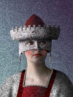 World of Lace 3 art digital art portrait art Dutch art by SPECIOSA