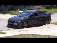09 Lancer GTS Stanced - YouTube