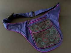 Hip Bag, Fanny Pack, Bag Making, Hand Sewing, Denim Jeans, Purses And Bags, Sewing Projects, Pouch, Belt
