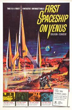 First Spaceship On Venus....1960