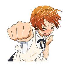 WORKING!!! - 公式スタンプ Inami Punch!