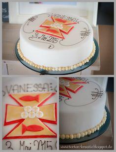 Torten-Kreativ: Kommunion Torte für ein Mädchen