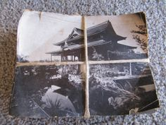 Vintage Japanese Wood Block with the Print by TwoCatsVintage, $30.00