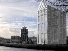 Dutch architectural firm DUS started to build a house by 3D printing
