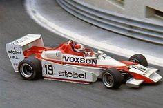 Siegfried Stohr - Chevron B48 BMW - Trivellato Racing Team - XXXIX Grand Prix de Pau 1979 - Exit of Pont Oscar turn: