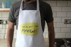 Meaty balls Apron by MsSpanner on Etsy