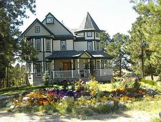 OldHouses.com - 1994 Victorian - Queene Anne /40 secluded acres in the Colorado Country/CASH REBATE to buyers in Elizabeth, Colorado
