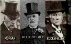 3 de los Satanes. Morgan; Rothschild y Rockefeller.  Tesla y el miedo a los banqueros centrales sin sentido. Ellos sabían lo que significaba su plan. La independencia energética significó una pérdida casi total de control de la población. Ellos están haciendo lo mismo hoy en día a través de dicha ong nebulosamente llamado de un Commonwael.