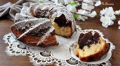 Ciambellone variegato senza glutine della nonna ,semplice da preparare e perfetto da pucciare ne latte o da servire per merenda