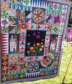 Sampler Quilts, Star Quilts, Scrappy Quilts, Quilt Blocks, Amish Quilts, Quilting Projects, Quilting Designs, Colorful Quilts, Applique Quilts