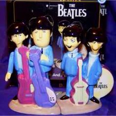The Beatles Salt & Pepper Shakers these are cool!