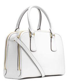#michaelkors #white satchel  http://rstyle.me/~1ZC2z