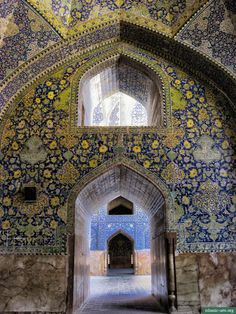 Imam (Shah) Mosque in Isfahan, Iran