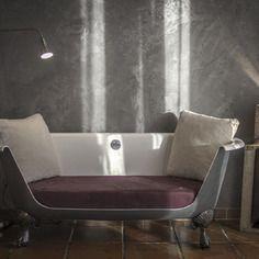 Canapé baignoire design pour intérieur ou extérieur