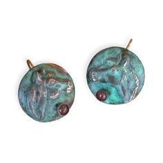 Delicate Sea Turtle Earrings With Jasper Price : $62.00  Http://www.collectibleartwear.com/Delicate Sea Turtle Earrings Jasper/dp/B009FZNIKU  | Pinterest ...