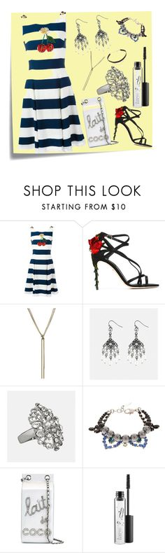 """""""Girl With Style..**"""" by yagna ❤ liked on Polyvore featuring Post-It, Dolce&Gabbana, Nina Ricci, Avenue, Joomi Lim, Chanel, MAC Cosmetics, Jennifer Zeuner and vintage"""