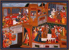 Rukmî's Defeat and Krishna Marries