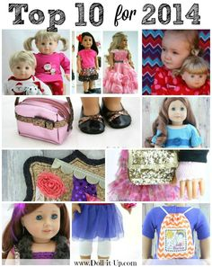 Top 10 posts for 2014 on Doll It Up.