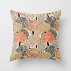 Buy Autumn forest Throw Pillow by A.Vogler. Worldwide shipping available at Society6.com. Just one of millions of high quality products available.