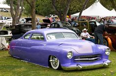1951 Mercury Coupe - customized lead sled by Pat Durkin - Orange County, CA
