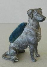 Antique Labrador Dog Pin Cushion