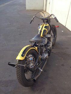 Bobber Motorcycle, Bobber Chopper, Moto Car, Old School Chopper, Custom Harleys, Harley Davidson Bikes, Shovel, Bikers, Scooters