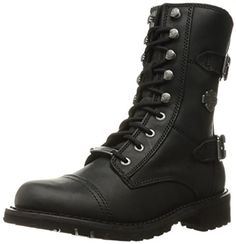 8f6114c438 HarleyDavidson Womens Balsa Work Boot Black 9 M US *** You can find more